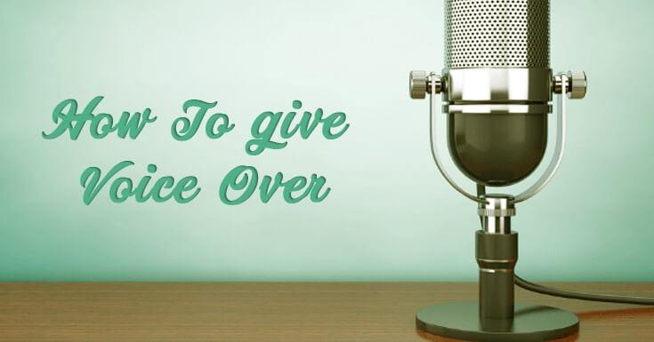 How to Give Voice Over to A Corporate Video