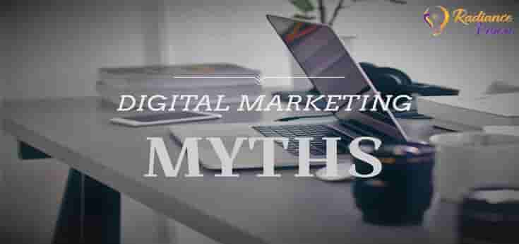 5 Common Myths of Digital Marketing you should stop believing |Demystified