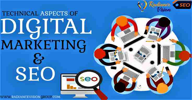 Technical aspects of Digital Marketing and SEO and how to use them