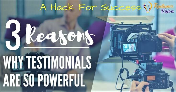 Testimonial Videos- A Hack For Success