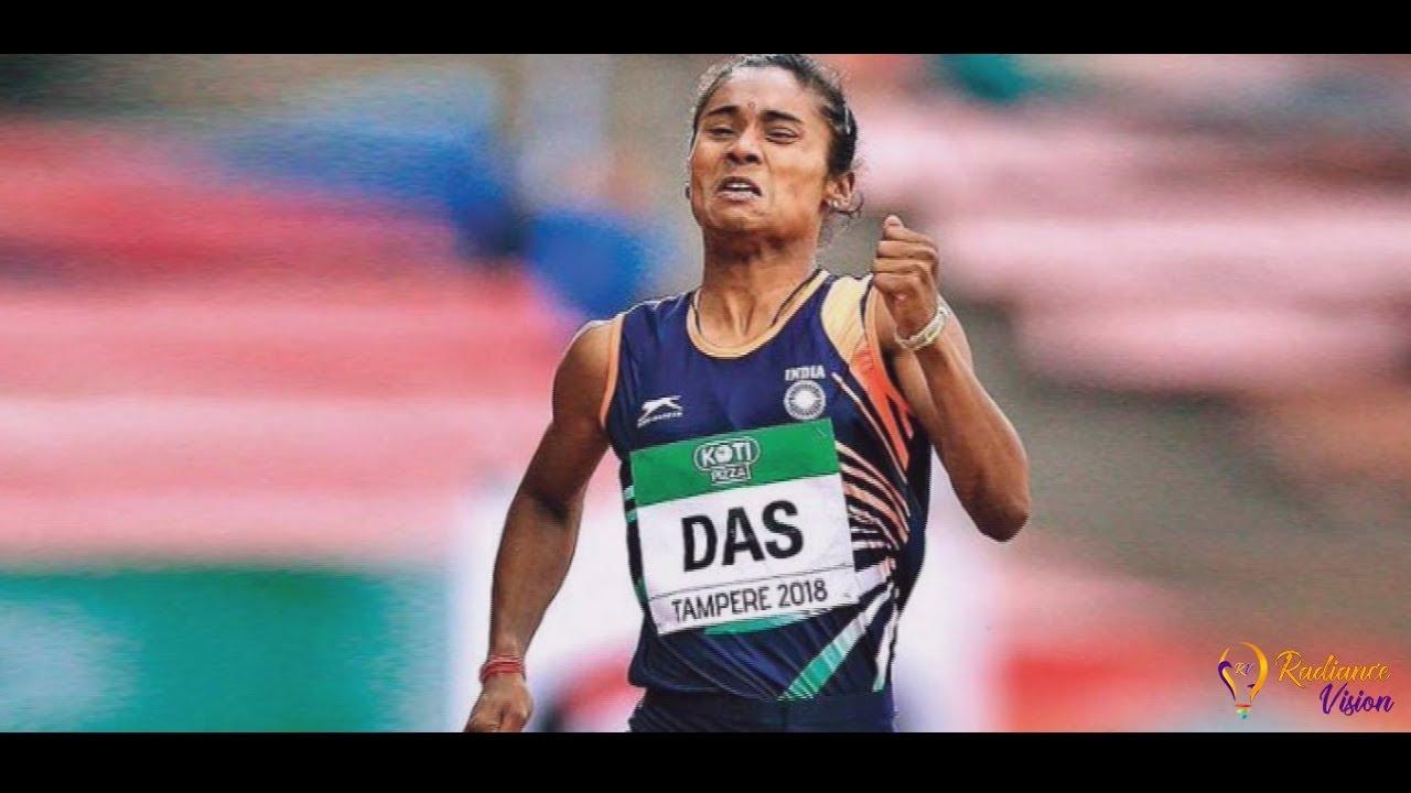 First Indian Athlete Hima Das- Winner of IAAF World Under-20