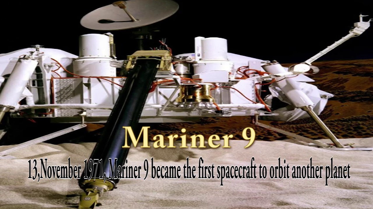 Mariner 9 The First Mars Mission