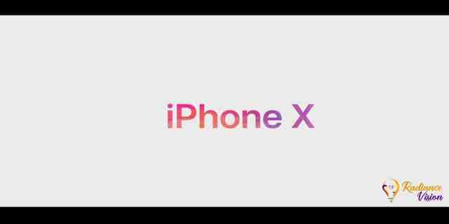 iPhone X (iPhone 10) the iconic phone with Machine Learning
