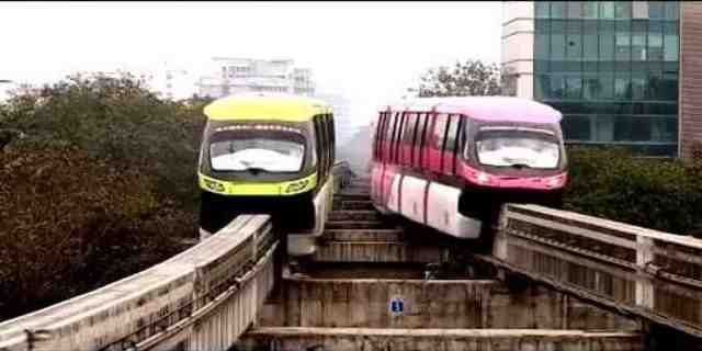 Monorail one of the prestigious project of Maharashtra Government (MMRDA)-Mumbai Monorail AD