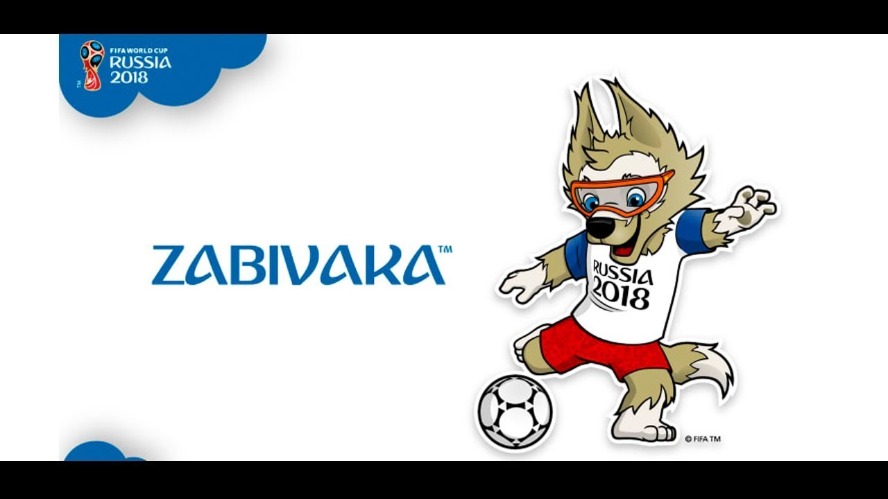 World Cup Russia 2018 : A Wolf Zabivaka