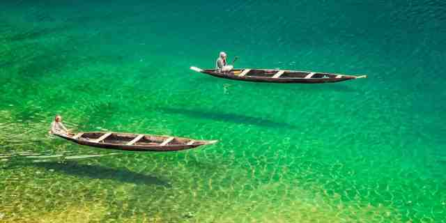 Asia's Cleanest Village Dawki Meghalaya in India