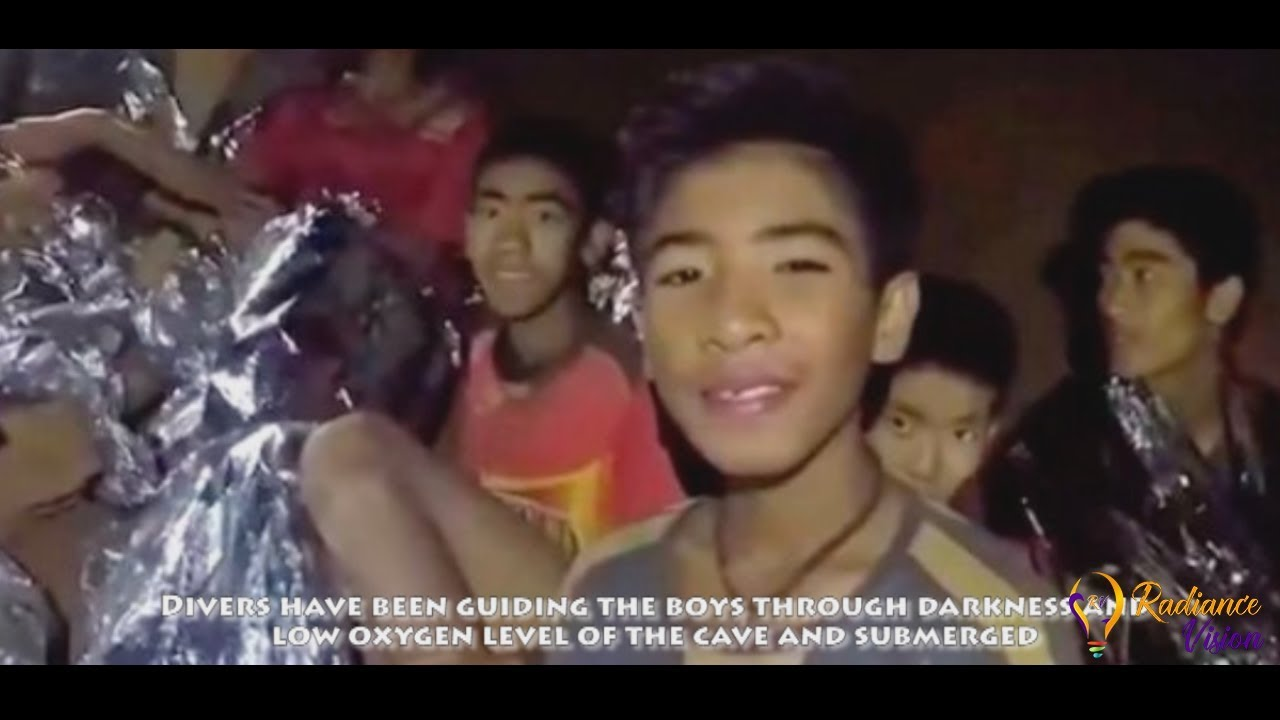 Football Team Rescued in Thailand