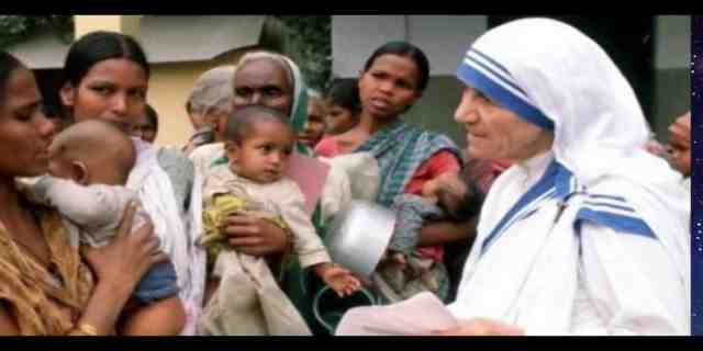 MOTHER OF EARTH MOTHER TERESA!