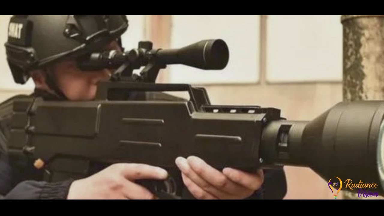 Future Weapon- China's Laser gun after USA's Laser Weapon
